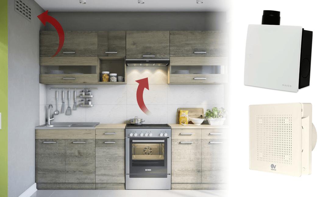 Вентилятор вытяжной для кухни - зачем нужен, как подобрать