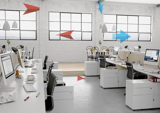 Естественная вентиляция офиса - как работает