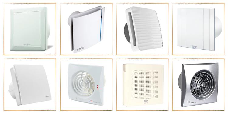 Как выбрать бытовой вентилятор для ванной и кухни