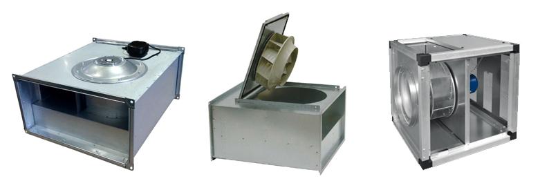 Вентиляторы для прямоугольного воздуховода