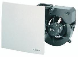 Вытяжной вентилятор с обратным клапаном maico er 60