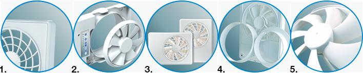 Список особенностей интеллектуального вентилятора Вентс iFan 100