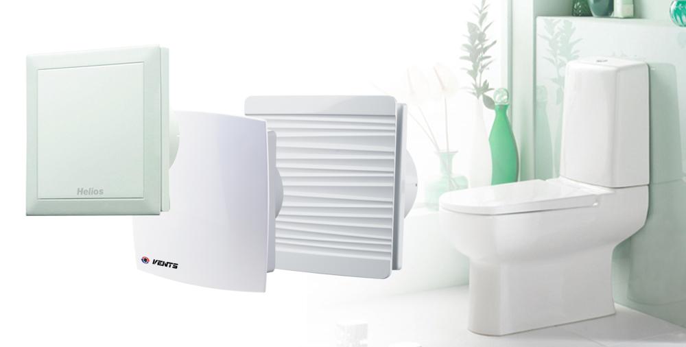 Вентилятор в туалет - как выбрать, расчет, модели