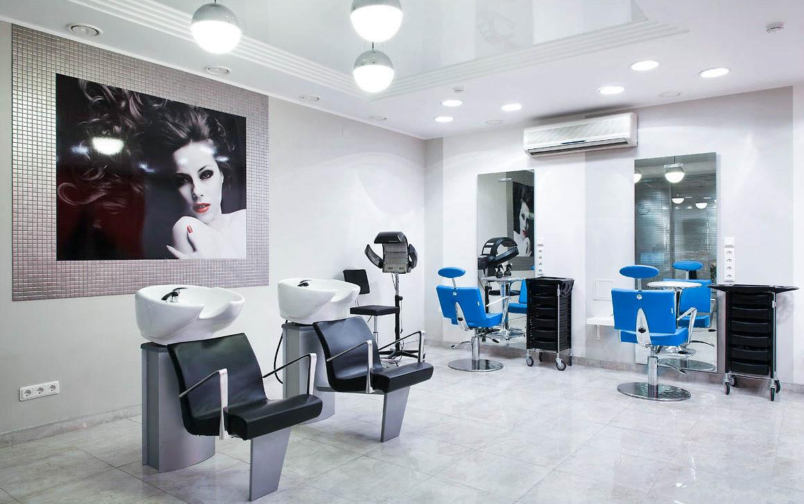 Дизайн интерьер парикмахерской фото